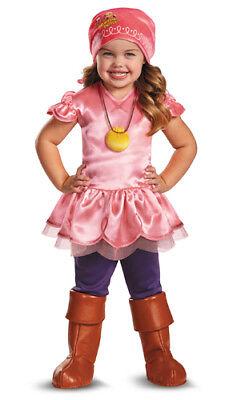 Girls Jake Never Land Pirates Izzy Halloween Costume ()