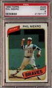 Phil Niekro Baseball Card