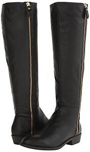 'Penny Loves Kenny' Dayton Black Knee-High Riding Boots 8