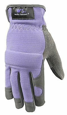 Wells Lamont 7707s Synthetic Leather High Dexterity Womens Work Gloves With Tou