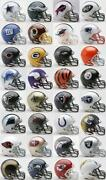 Mini Football Helmets Set