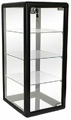 Only Hangers Elegant Black Vertical Display Counter Top Showcase