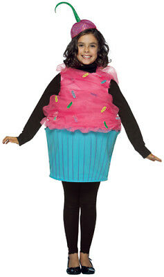 Sweet Eats Kids Medium 7-10 Halloween Cupcake Costume