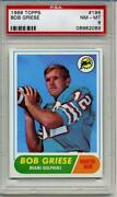 1968 Topps Football Cards