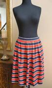 J Crew Stripe Skirt