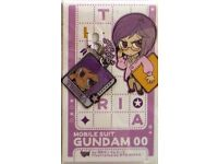 Gundam 00 Mr Bushido Fastener Accessory September Metal Charm Anime Manga MINT