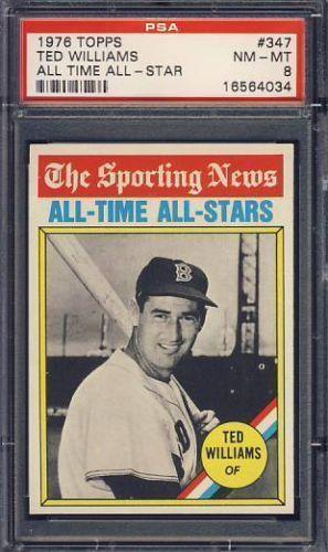 1976 topps all time all stars baseball cards ebay. Black Bedroom Furniture Sets. Home Design Ideas