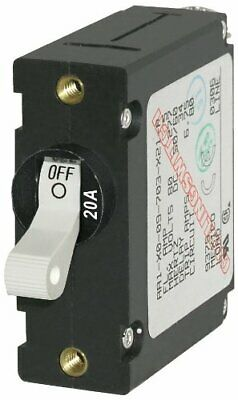 Blue Sea Systems 7214 Breaker A 1 Pole Wht-toggle Acdc 20a