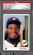 1989 Upper Deck Griffey PSA