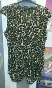 Plus Size Leopard Print Dress