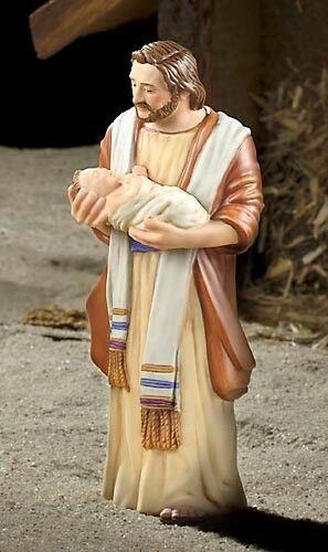 JAMES CHRISTENSEN - Joseph & Jesus - Porcelain