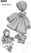 Vintage Baby Crochet Pattern