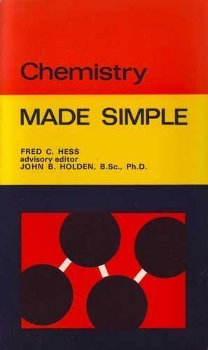 Chemistry (Made Simple Books),Fred C. Hess