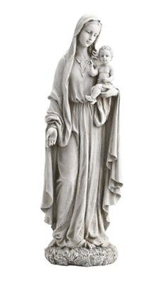 LARGE - VIRGIN MARY & JESUS MADONNA & CHILD STATUE GRAVE ORNAMENT OTHERS LISTED
