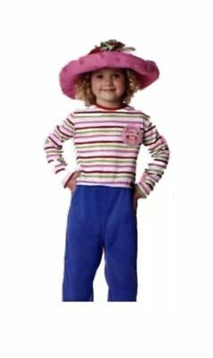 GIRLS SIZE 6-8 STRAWBERRY SHORTCAKE ORIGINAL HALLOWEEN RARE COLLECTIBLE COSTUME  - Strawberry Shortcake Girls Costume
