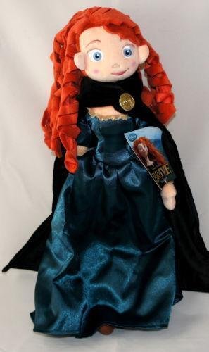 Disney Merida Doll Plush Ebay