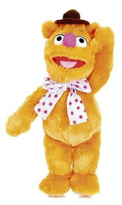 """The Muppets - FOZZY BEAR - Large 16"""" Plush Beanie Disney Soft Toy - *BRAND NEW*"""