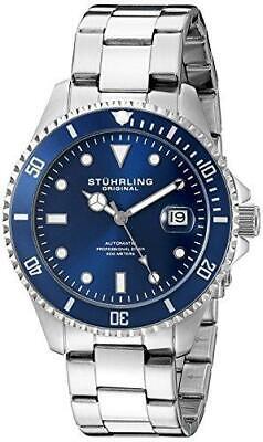 Stuhrling Original 792 02 Regatta 792 Aquadiver Automatic Mens Watch