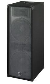 DISCO SPEAKERS FOR SALE ELECTROVOICE FORCE I 25s & OTHERS