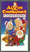 Alvin and The Chipmunks VHS