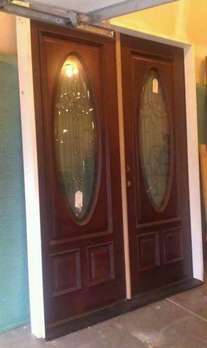 Double Front Door Ebay