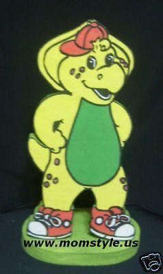 Barney Birthday Decorations (Barney - TJ  birthday party centerpiece decoration)