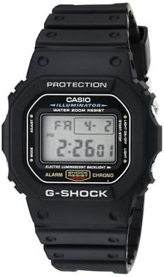 Casio Mens Black Classic Digital Shock Resistant Sports Watch Dw5600e 1