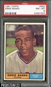 Ernie Banks Baseball Cards