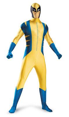 Wolverine Deluxe Bodysuit Mens Halloween Costume - Wolverine Halloween Costumes