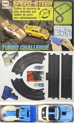 1980 Aurora SpeedSteer TCR Slot Car Race Set Vet&FBird