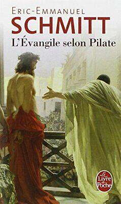L'Evangile selon Pilate (Ldp Litterature) by Schmitt, Eric-Emmanuel Book The d'occasion  Expédié en Belgium