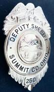 County Sheriff Badge