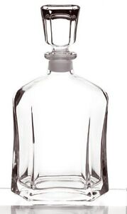 Decanter Bottle Vintage Glass Liquor Whiskey Crystal Jim Beam Wine Stopper Bar