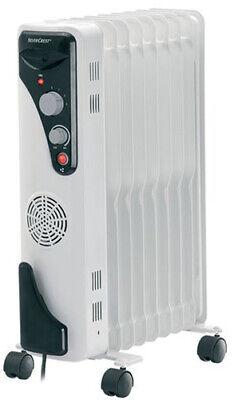 Silvercrest Radiador de Aceite 2400W Eléctrico Calefacción Calentador Radiador