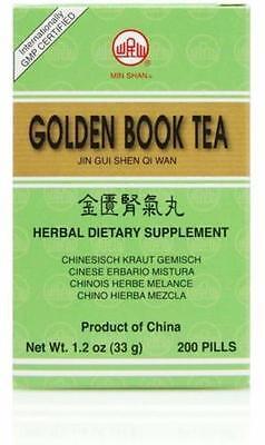 Jin Gui Shen Qi Wan (Golden Book Teapills), 200 ct, Min Shan by Min Shan (Jin Gui Shen Qi Wan)