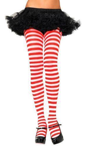 a347363d92cd9d Candy Cane Tights | eBay