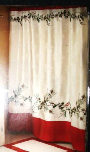 Winter shower curtain ebay