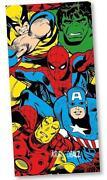 Marvel Beach Towel