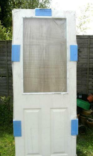 Glass Panel Interior Doors White Ebay