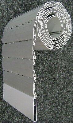 Rolladen Ersatz Lamellen Maßanfertigung PVC beige Breite 900 mm