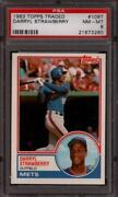 1983 Topps Darryl Strawberry