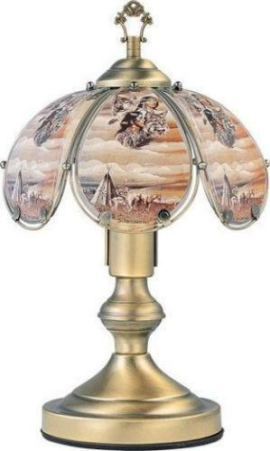 native american lamp