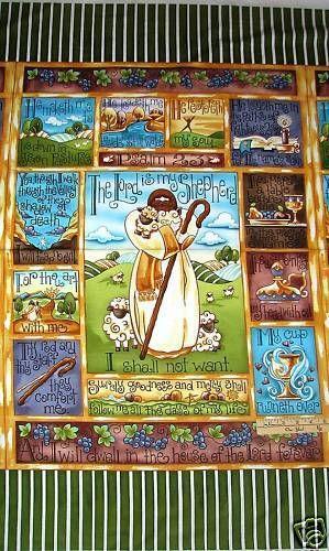 Psalms Fabric Ebay