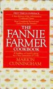 Fannie Farmer Cookbook