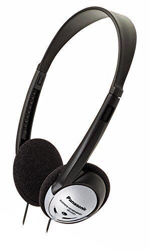 Panasonic RP-HT21 On Ear Lightweight Headphones with XBS, Bl