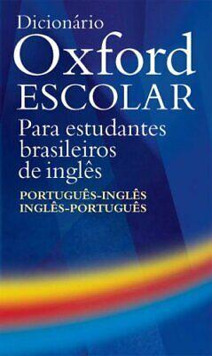 Dicionario Oxford Escolar: para estudiantes brasileiros de ingles By Jackie Hol comprar usado  Enviando para Brazil