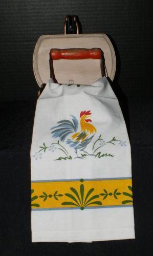 Vintage Kitchen Towel Rack Ebay