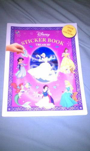 Disney Princess Sticker Book Ebay