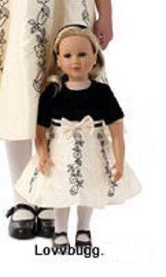 "My Twinn Black n White Dress for 23"" Doll Clothes"