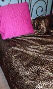 Leopard Print Bedroom
